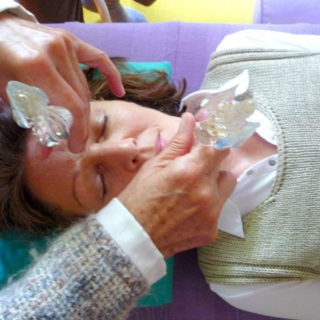 LichtEnergie-Massage - Facelifting