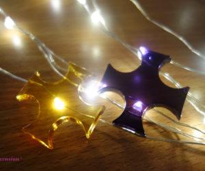 Goldenes -violettes -siegel -raumschutz