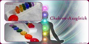 Chakren-Set aus 8 Sonnenrädern