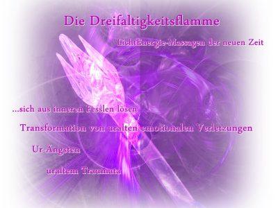 LichtEnergie-Massagen mit der Dreifaltigkeitsflamme