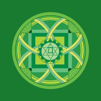 Herz-Chakra -madala green-1340075