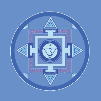 Stirn-chakra  blue-1340076