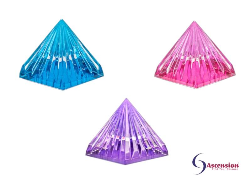 Licht van de sterren piramides
